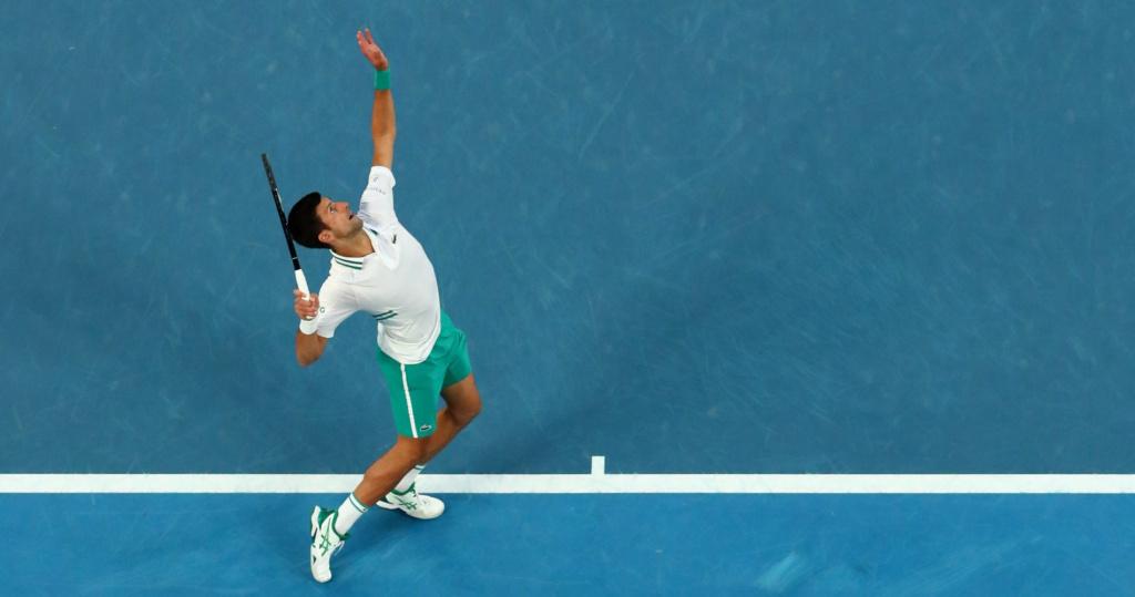 Novak Djokovic AO Final