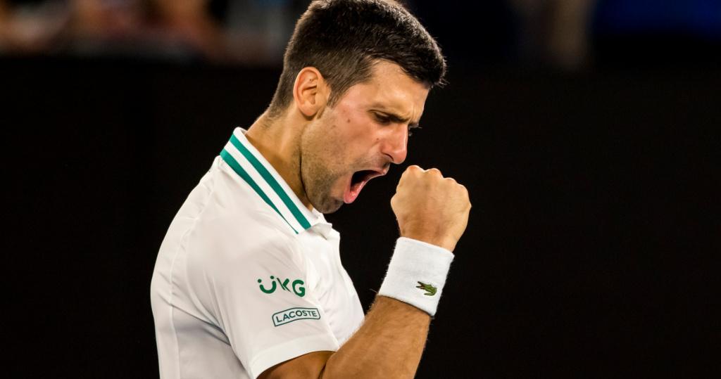 Novak Djokovic Australian Open SF