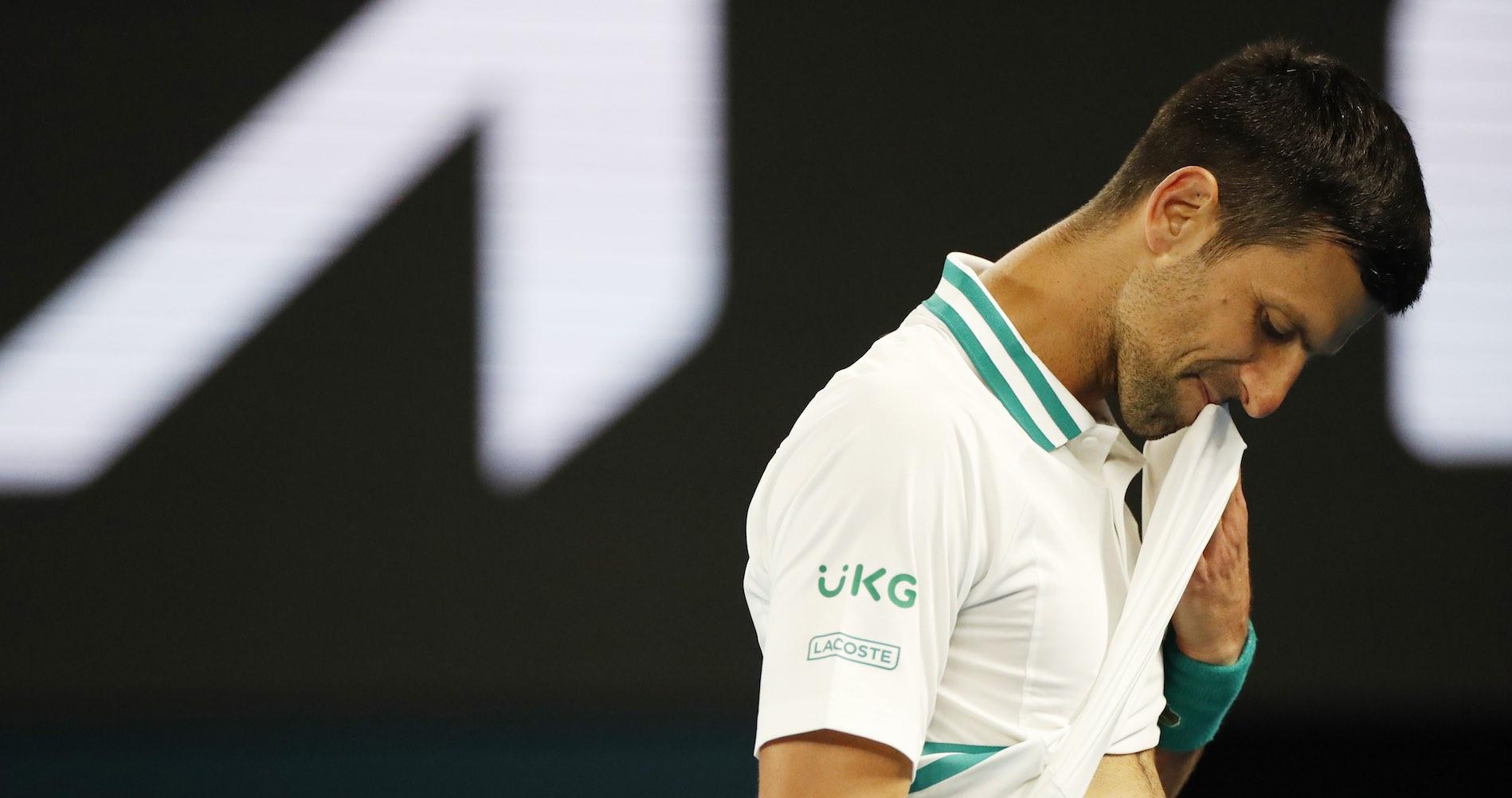 Novak Djokovic, Melbourne, 2021