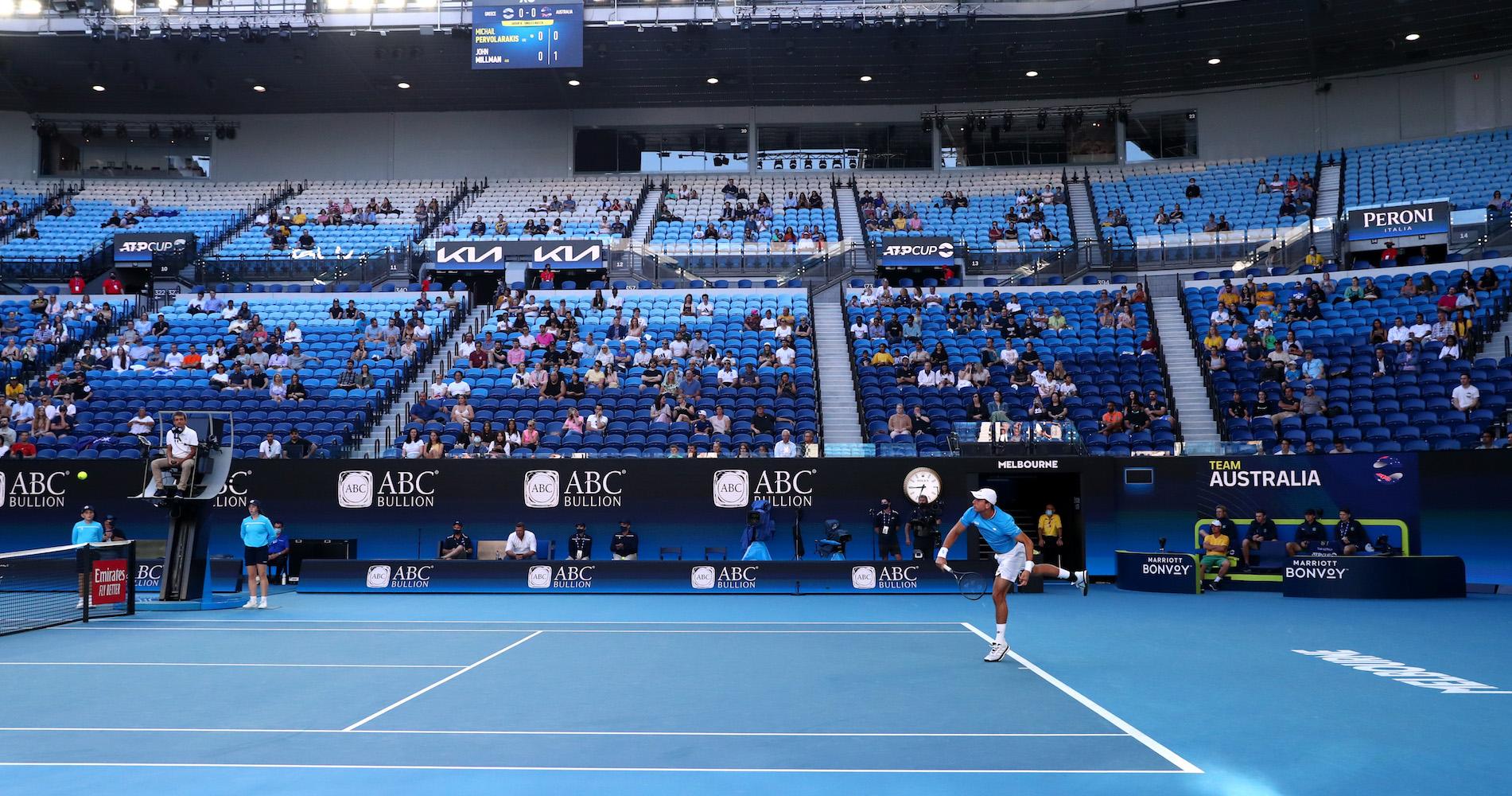 ATP Cup à Melbourne Park