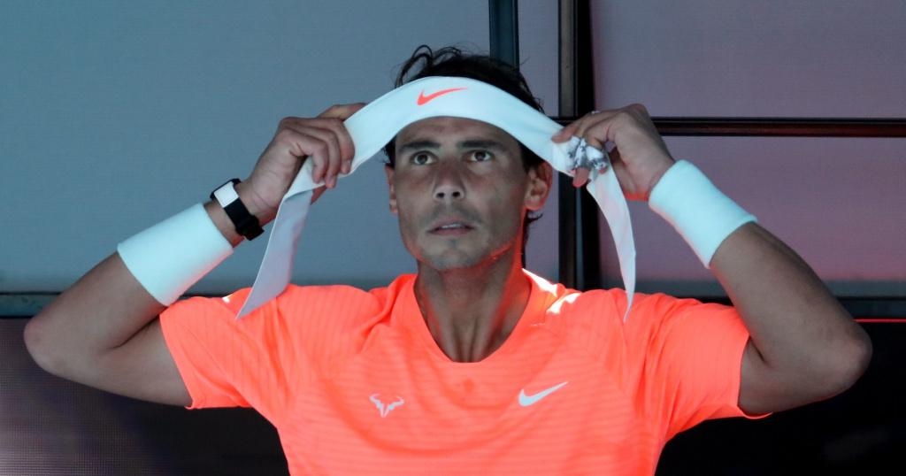 Rafael Nadal, Open d'Australie 2021, 1er tour