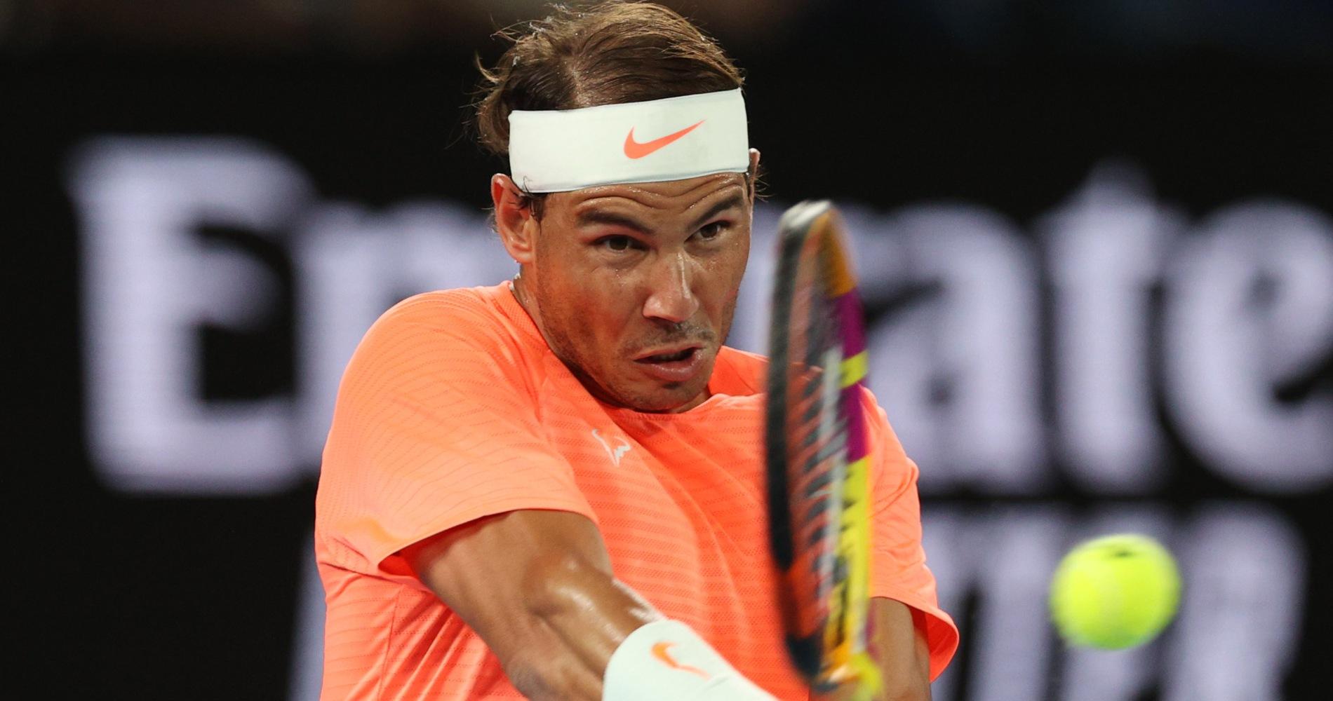 Rafael Nadal Australian Open 2021