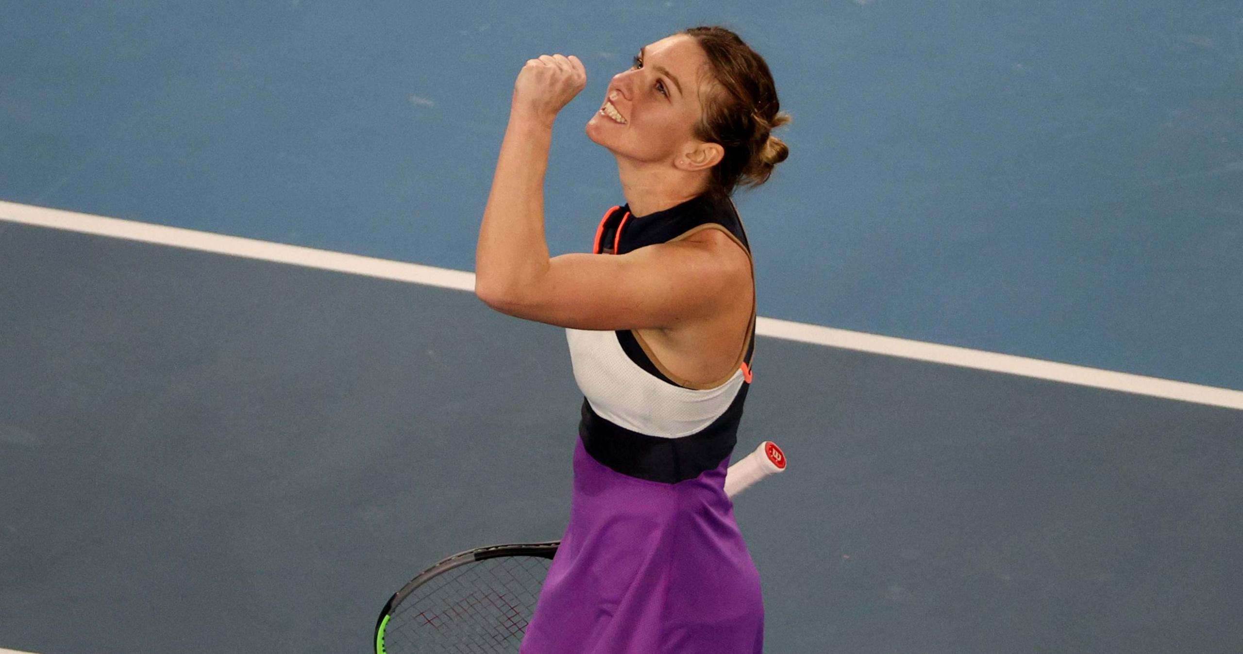 Simona Halep, Australian Open, 2021