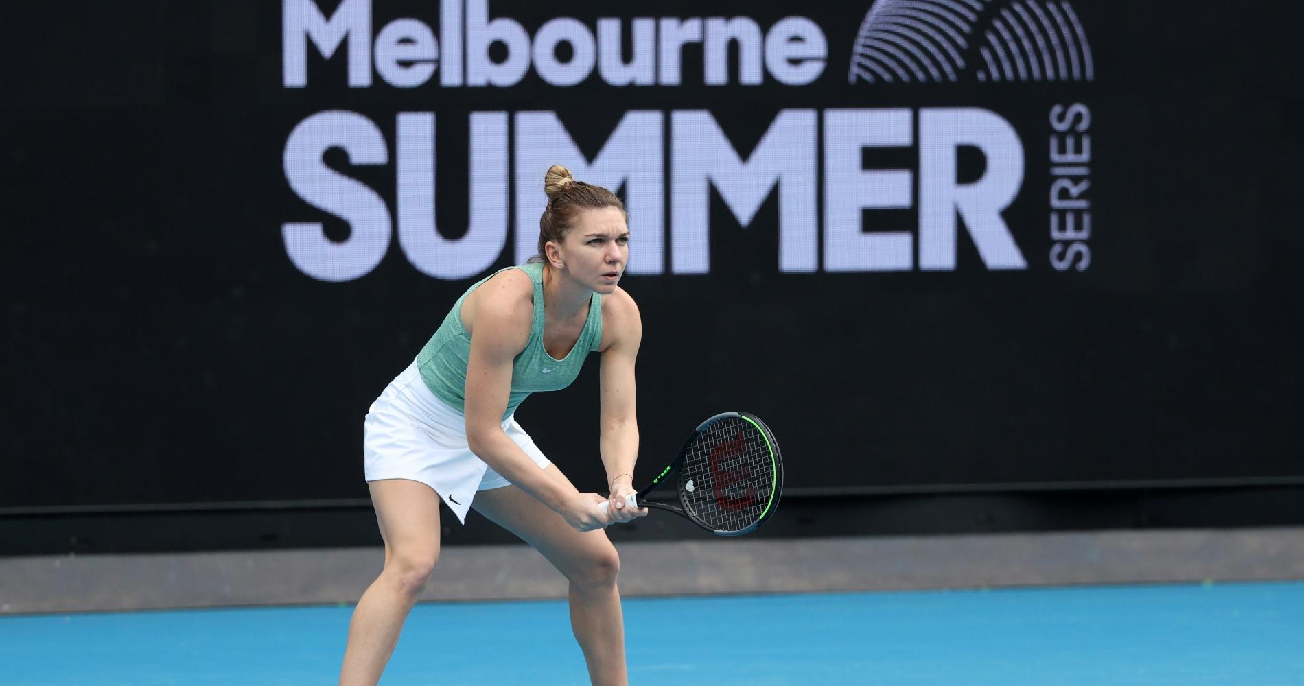 Simona Halep, Melbourne Summer Series 2021