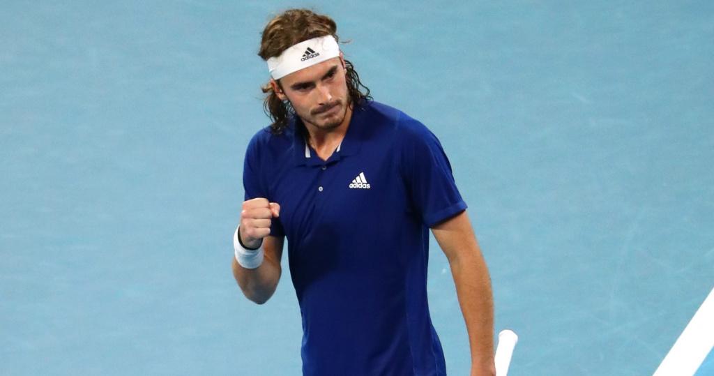 Stefanos Tsitsipas, 2021 ATP Cup