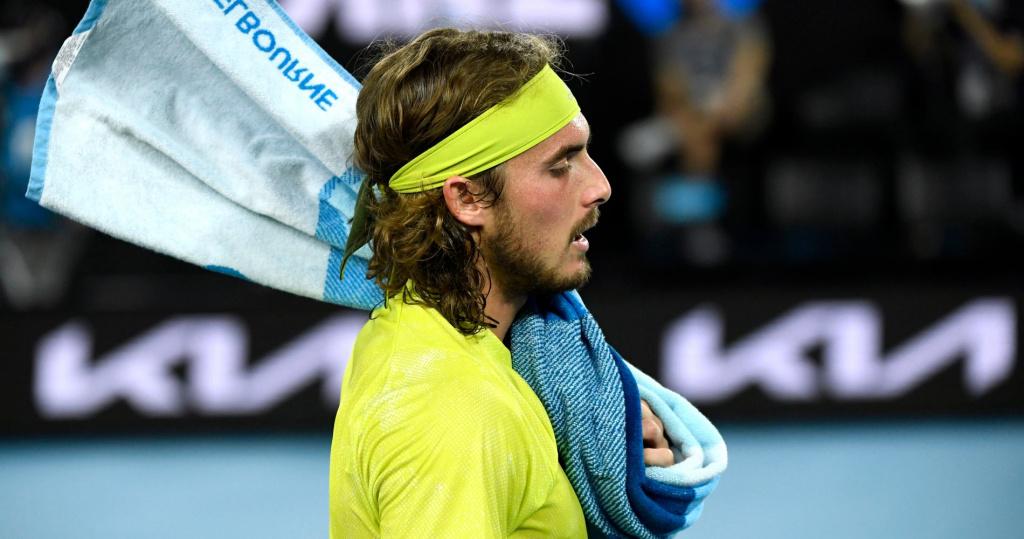 Stefanos Tsitsipas, Australian Open, 2021
