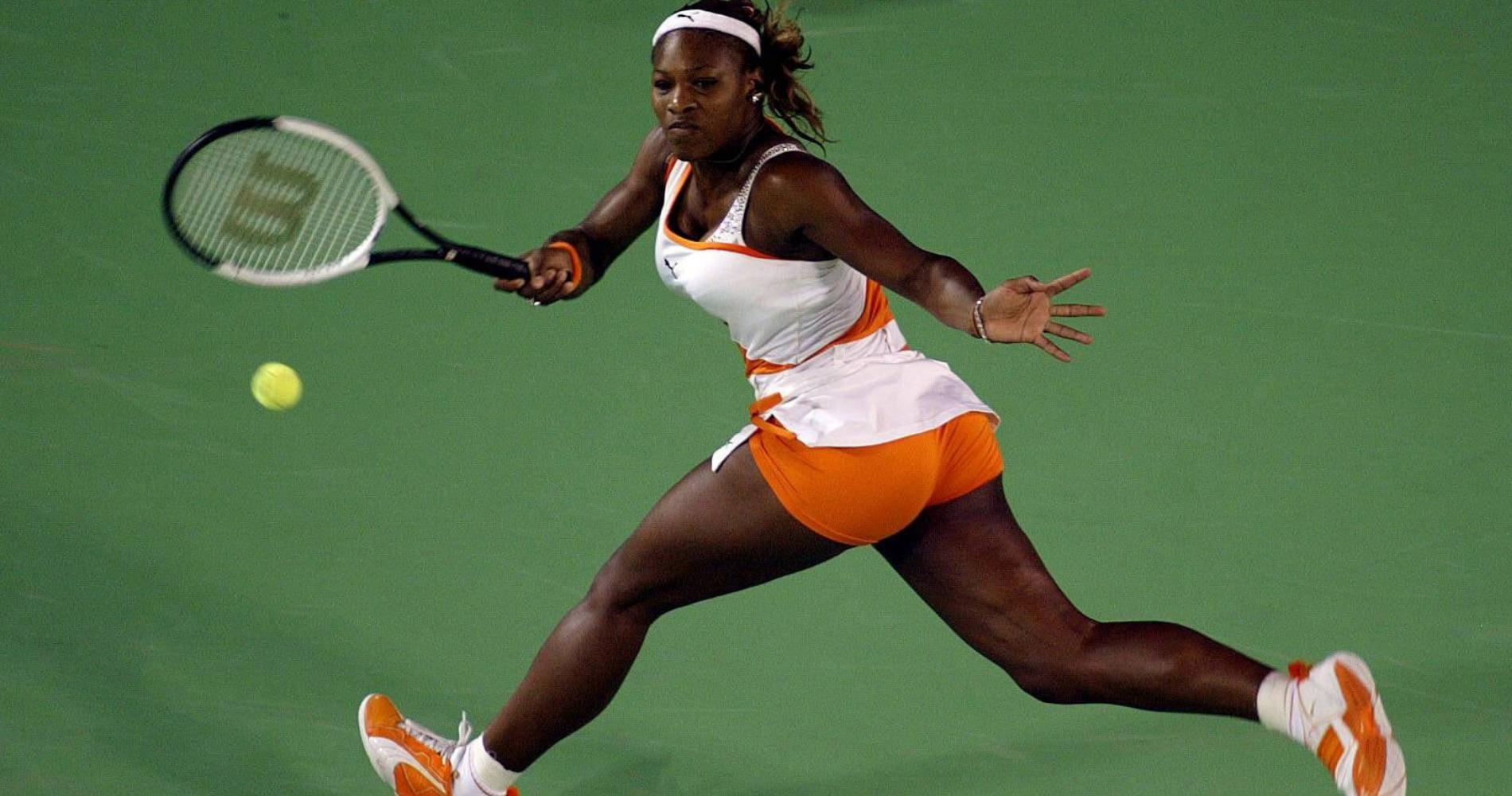 Serena Williams - Open d'Australie 2003