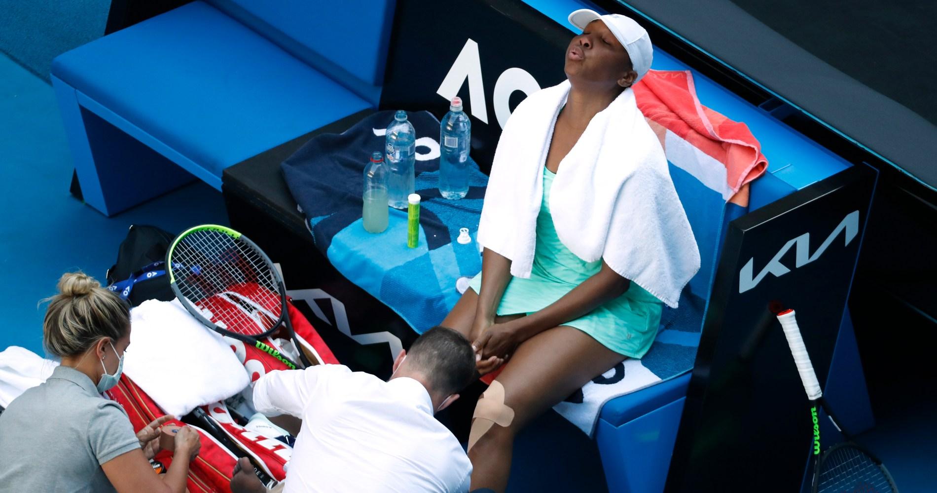Venus Williams, Open d'Australie 2021
