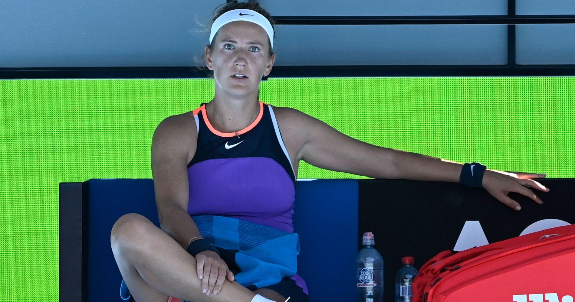 Victoria Azarenka, Open d'Australie 2021, 1er tour
