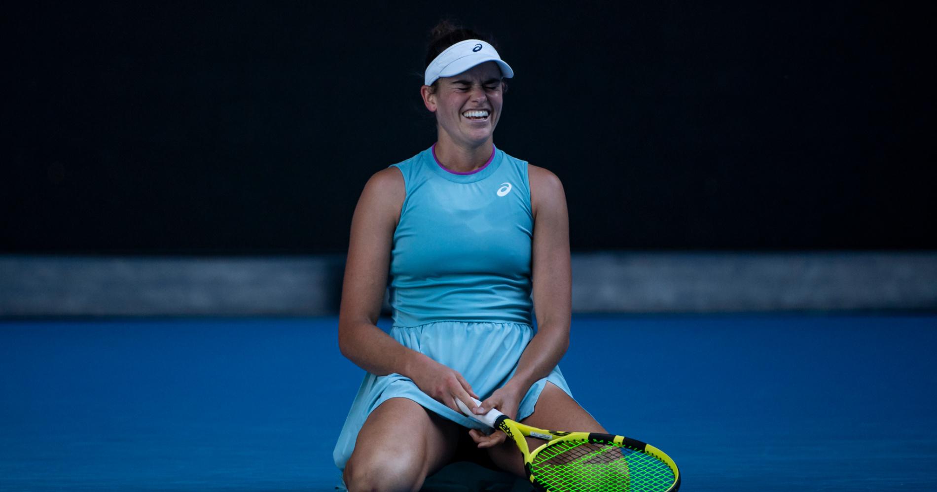 jennifer brady 2021 Australian Open semifinal