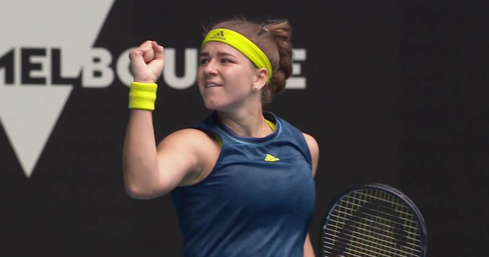 Karolina Muchova 2021 Australian Open
