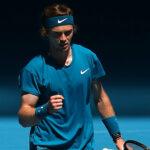 Andrey Rublev 2021 Australian Open
