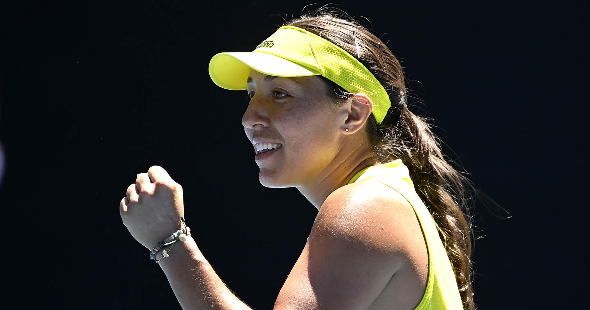 Jessica Pegula 2021 Australian Open