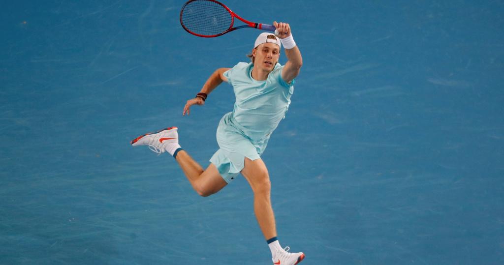 Denis Shapovalov, Open d'Australie 2021