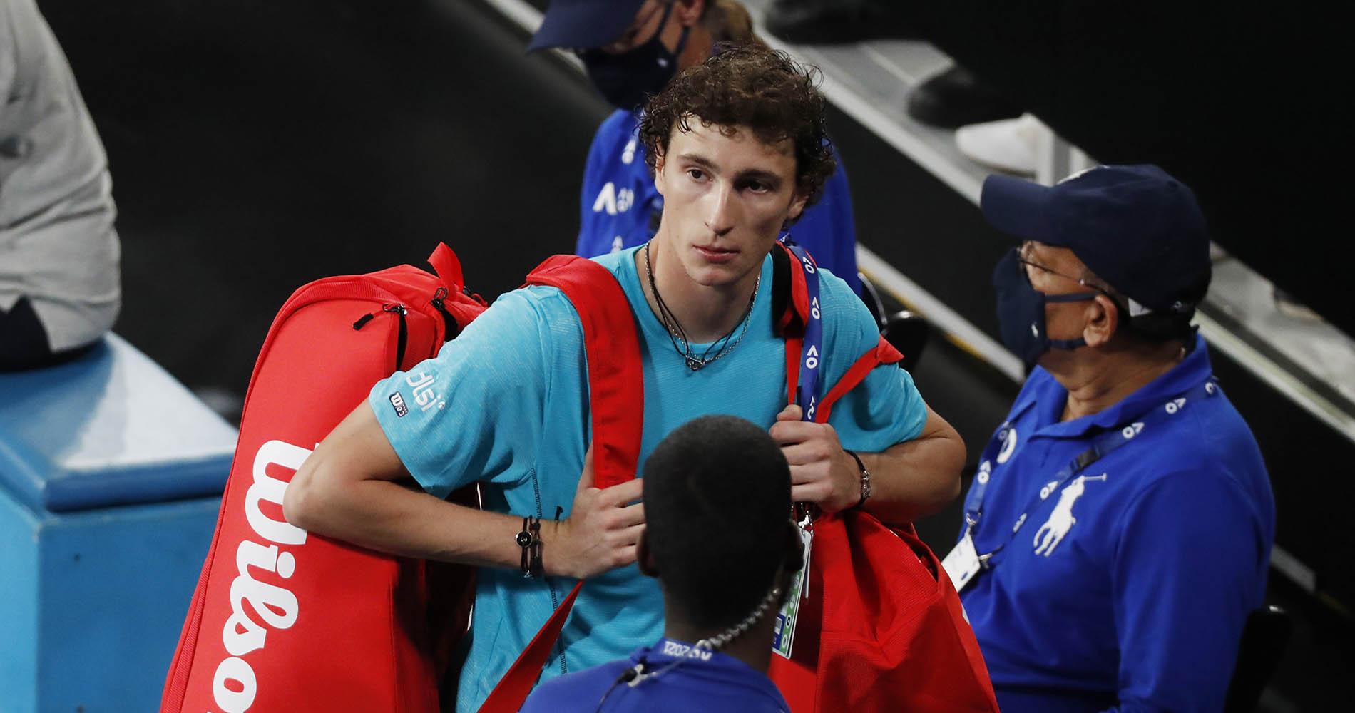Ugo Humbert 2021 Australian Open