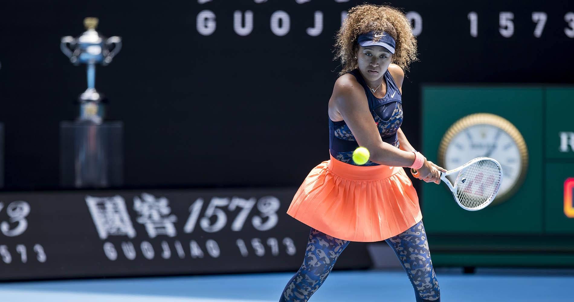 Naomi Osaka 2021 Australian Open semifinals