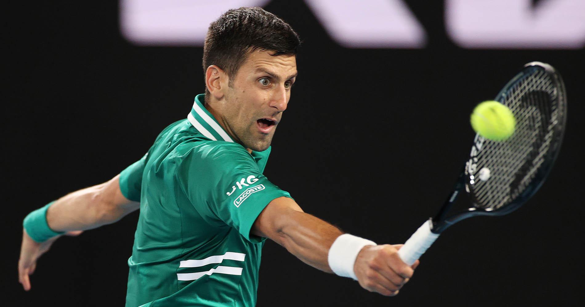 Djokovic 2021 Australian Open quarterfinal