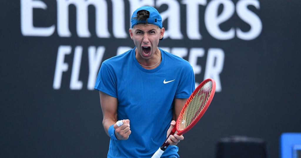 Alexei Popyrin 2021 Australian Open