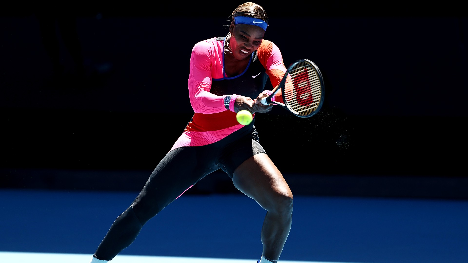 Serena Williams, Melbourne, Feb 2021