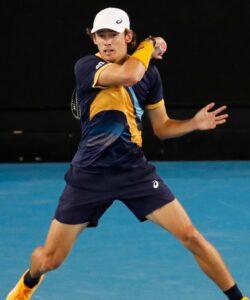 Alex de Minaur, Australian Open, 2021