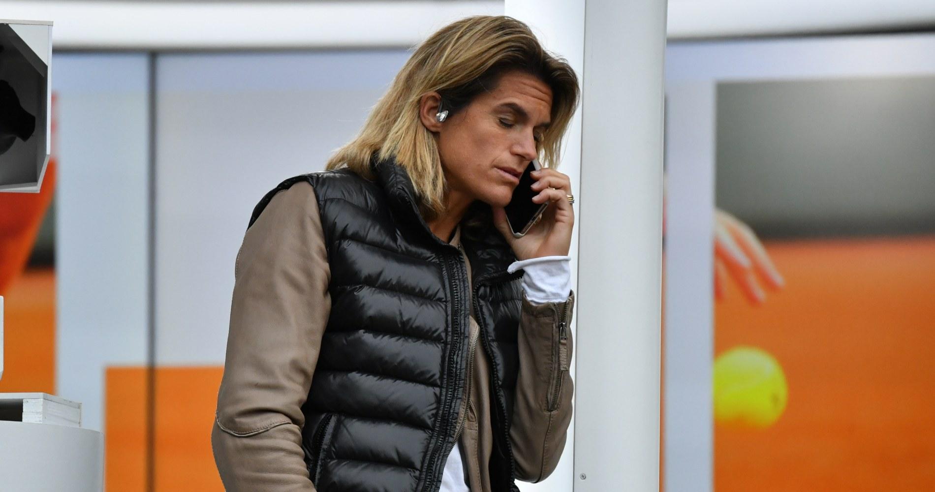 Amélie Mauresmo, Roland-Garros, 2020