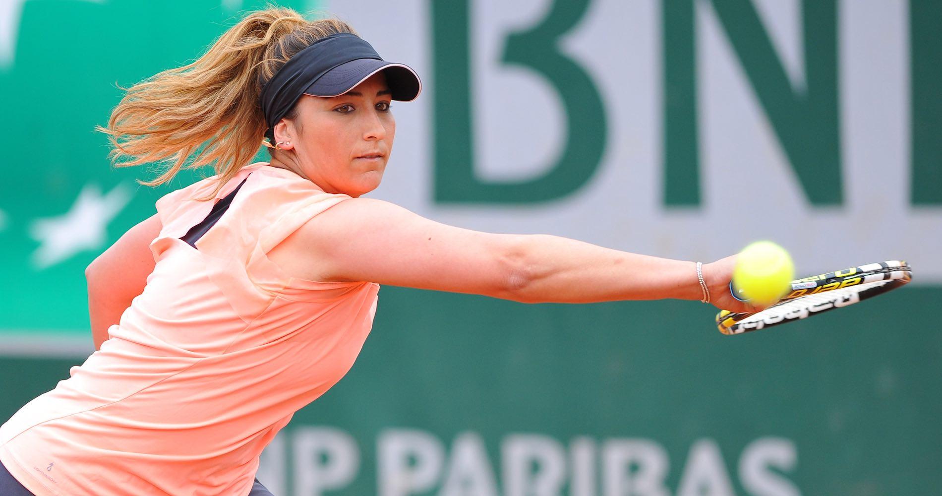 Aravane Rezaï en 2015 à Roland-Garros