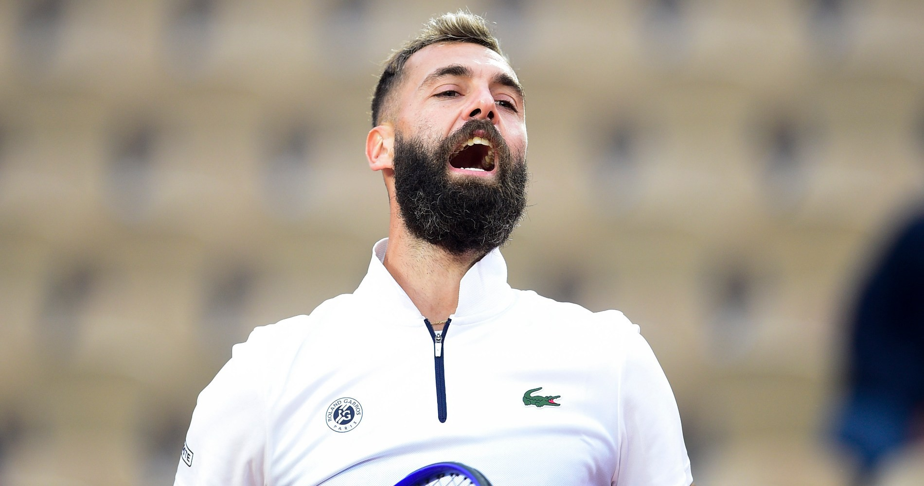 Benoît Paire, Roland-Garros, 2020