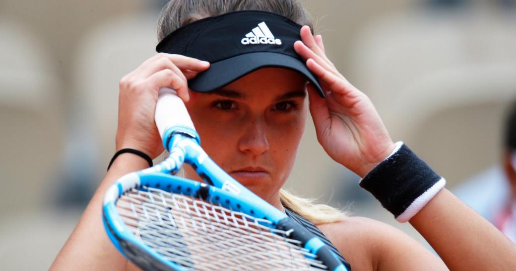 Clara Burel, Roland-Garros, 2020