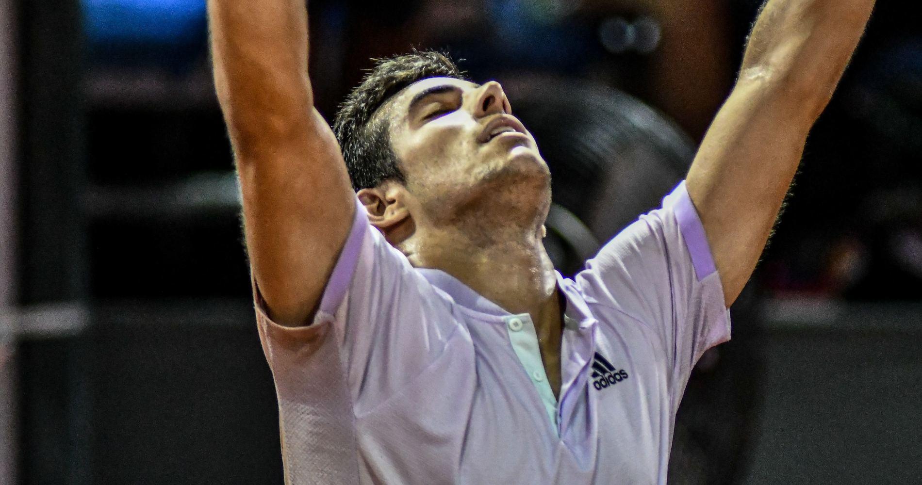 Cristian Garin, Rio, 2020