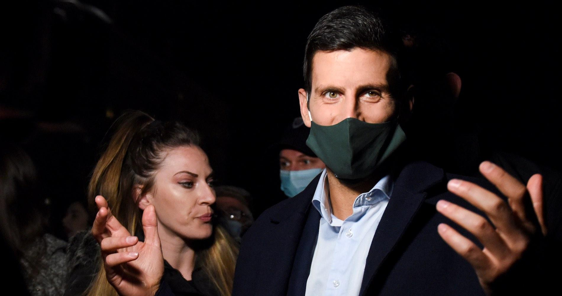 Novak Djokovic, Belgrade, 2021
