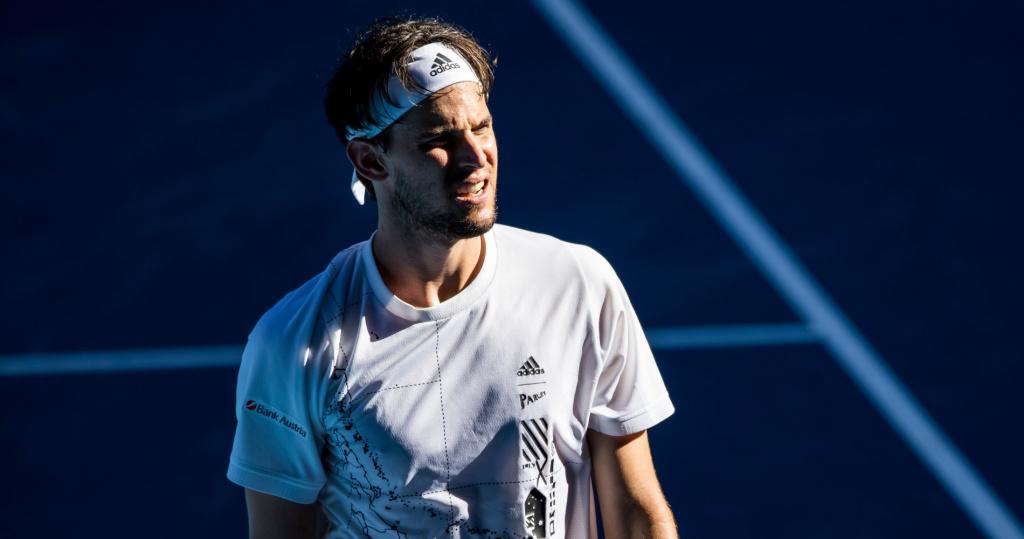 Dominic Thiem, Australian Open, 2021