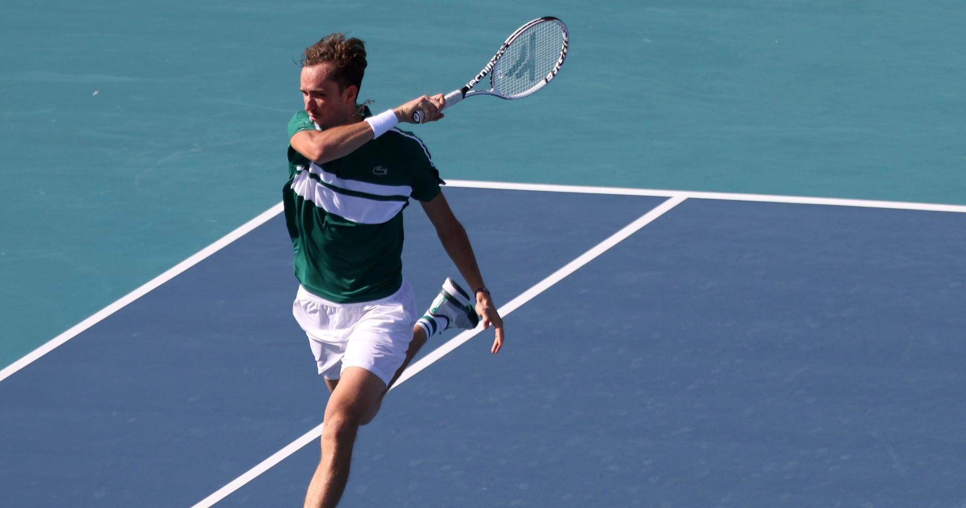 Daniil Medvedev Miami Open 2021