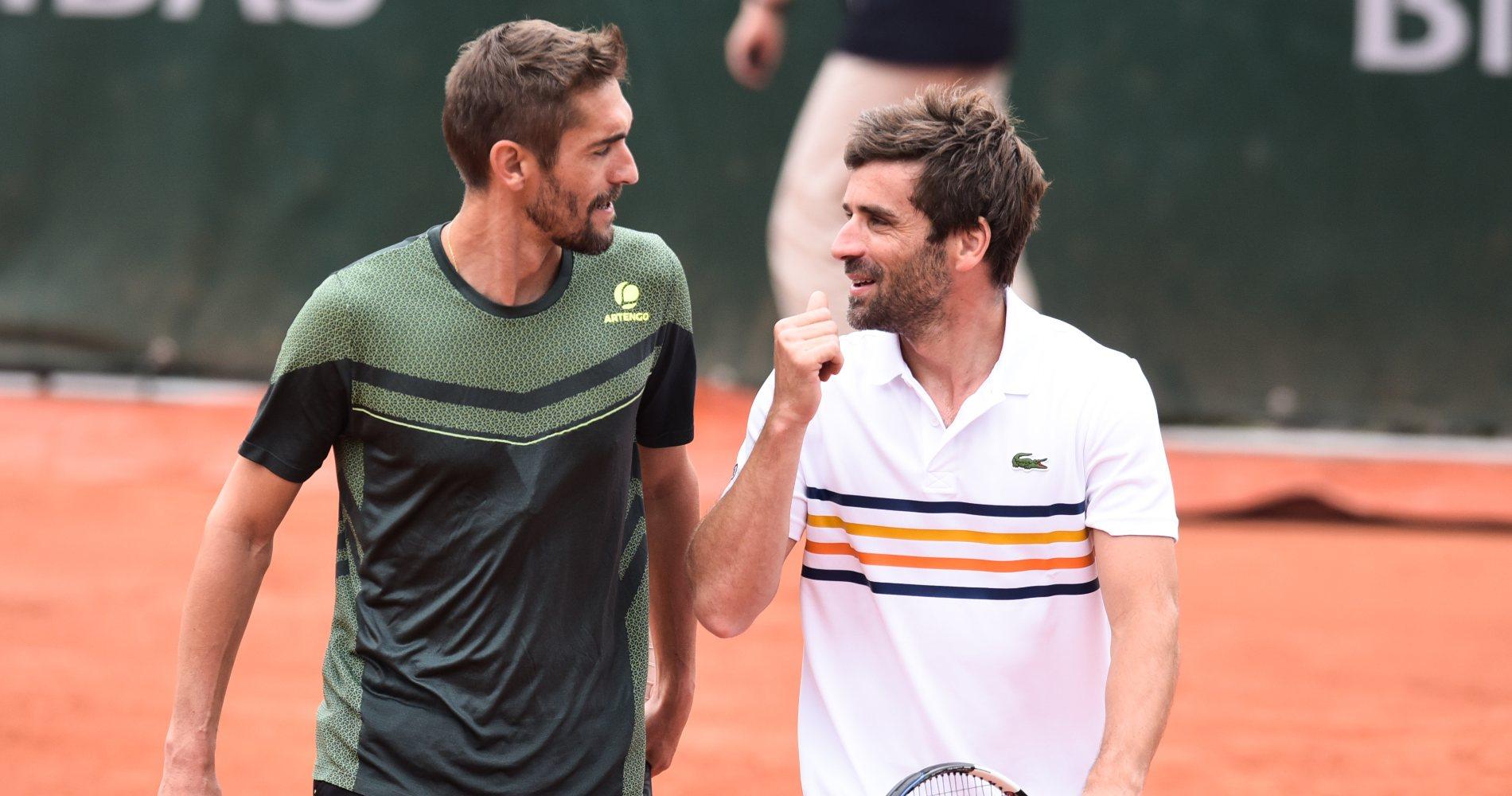 Nicolas Escudé & Arnaud Clément, Roland-Garros, 2018