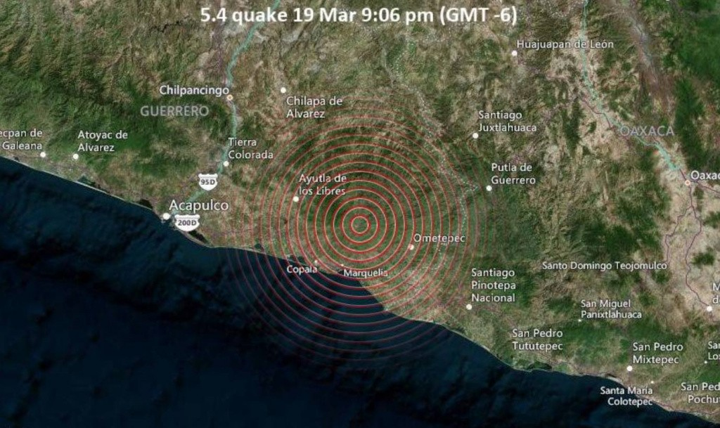 Earthquake in Acapulco