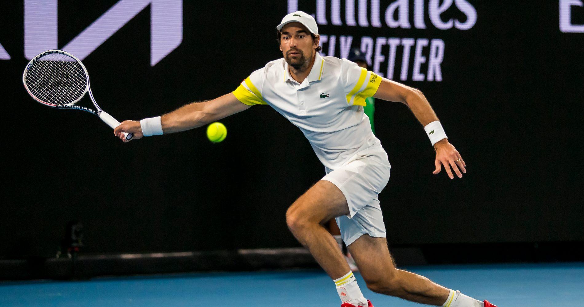 Jérémy Chardy, Australian Open, 2021
