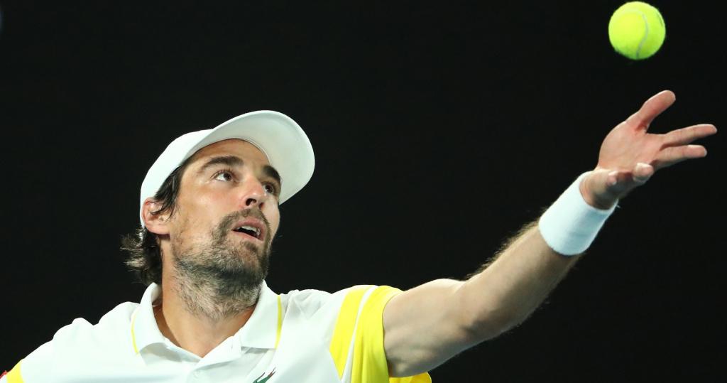 Jérémy Chardy, Open d'Australie 2021
