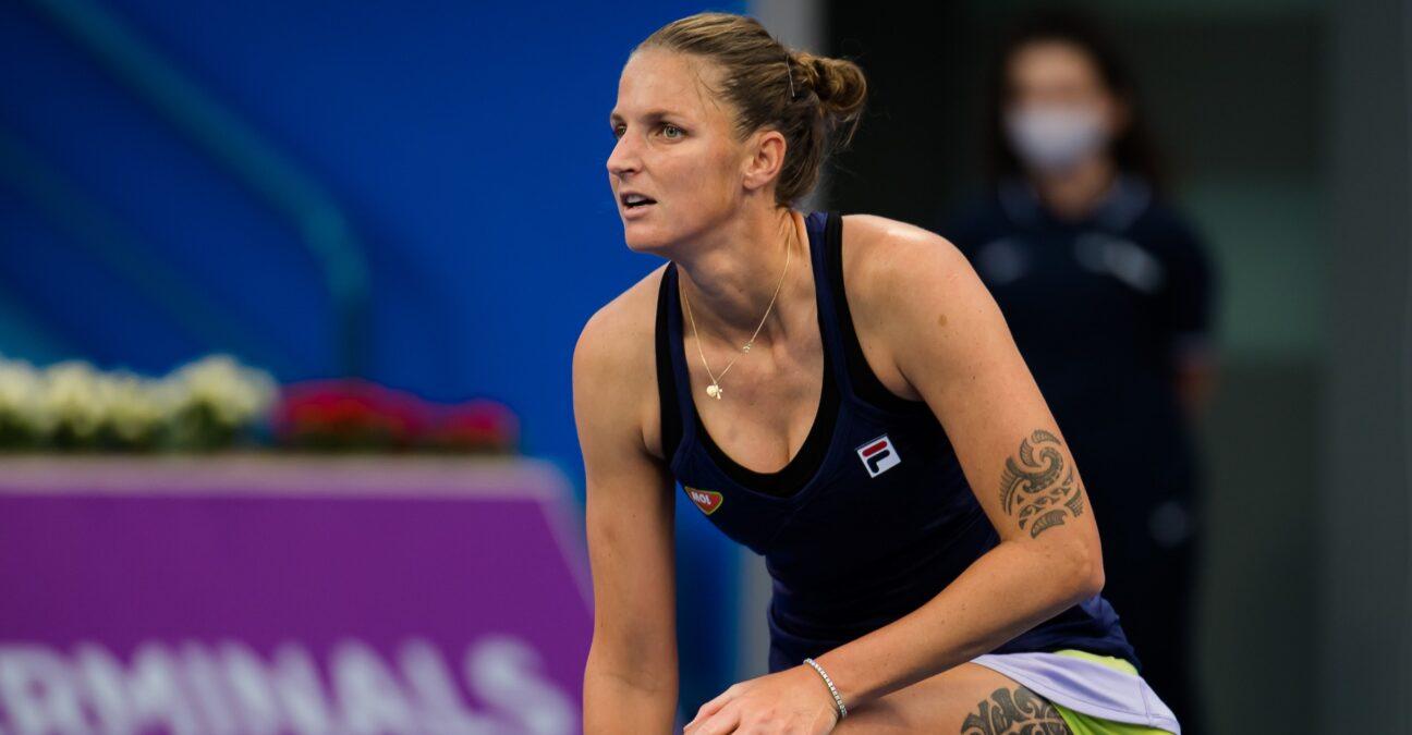 Karolina Pliskova, Doha, 2021
