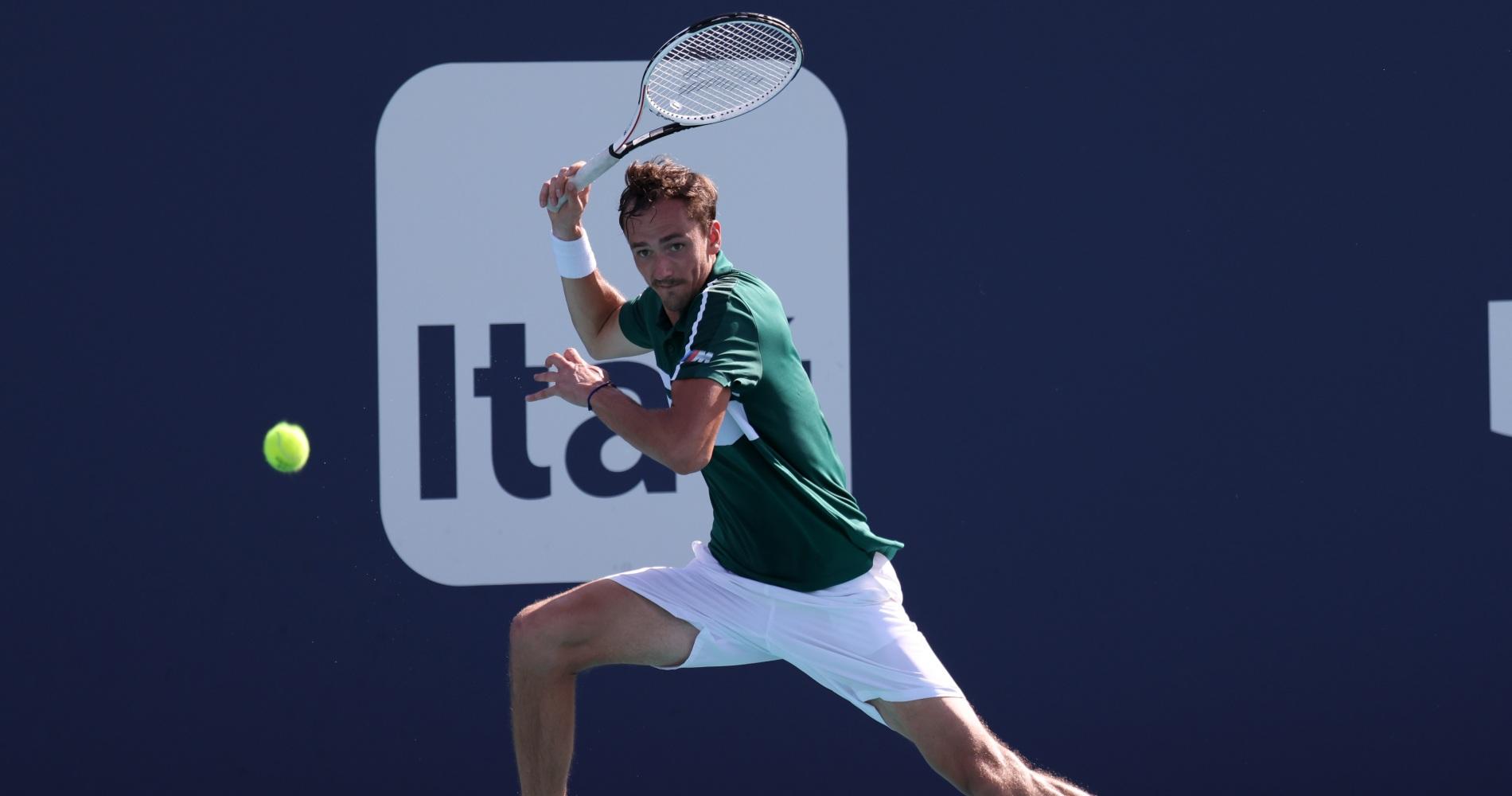 Medvedev Miami Open 2021