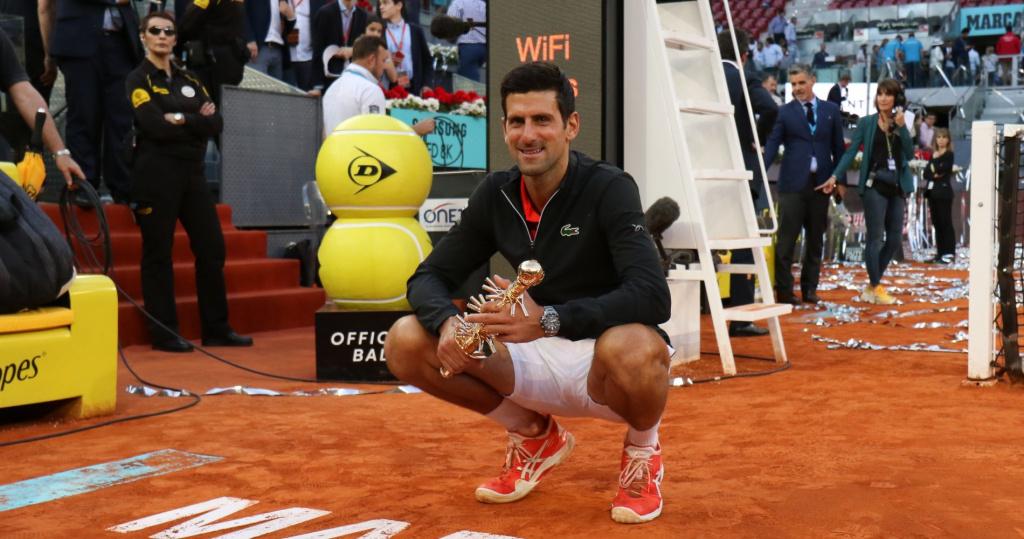 Novak Djokovic_Madrid_2019