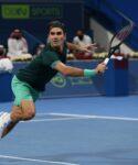 Roger Federer, Doha 2021