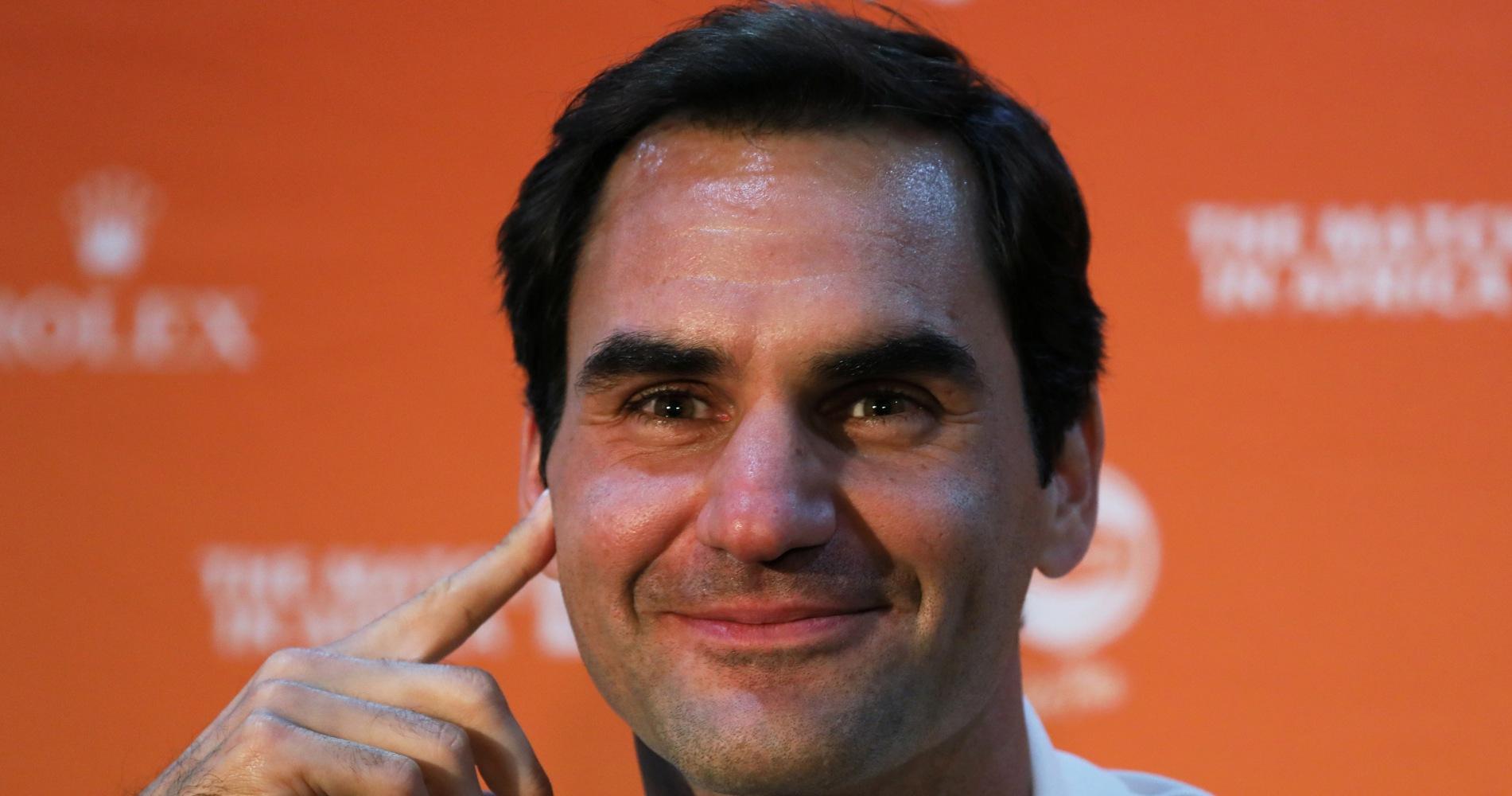 Roger Federer Cape Town 2020