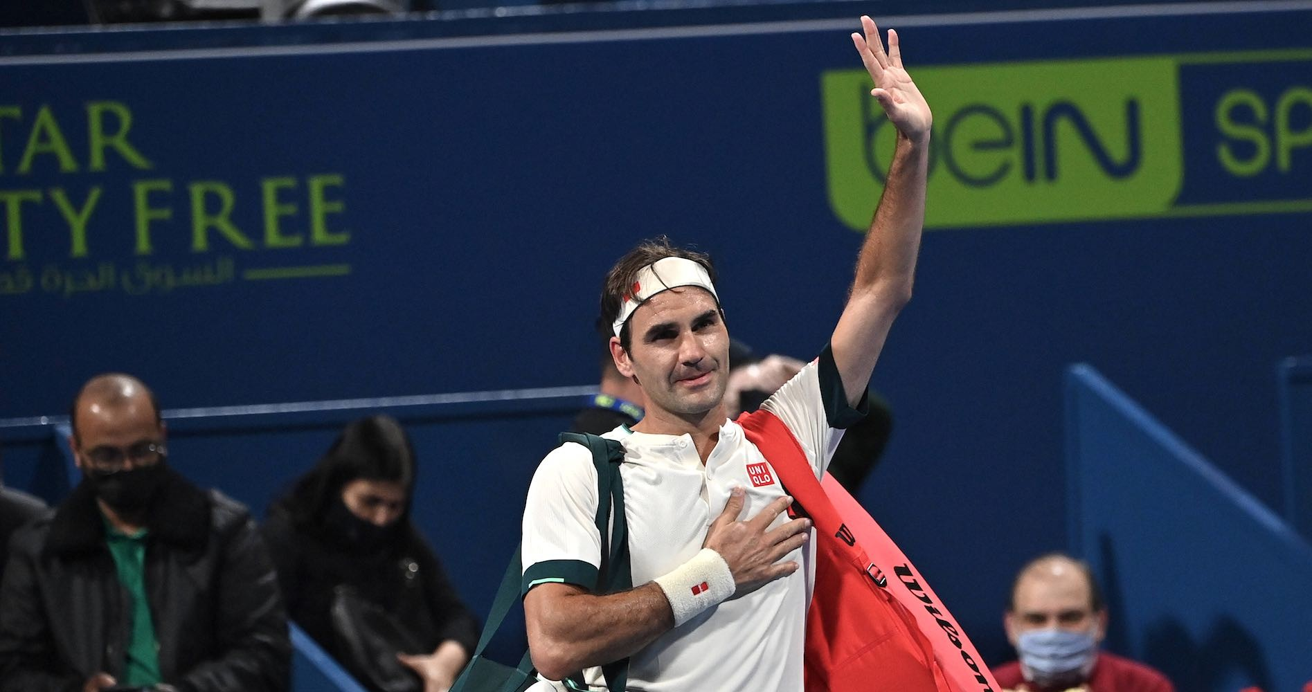 Roger Federer, Doha, 2021