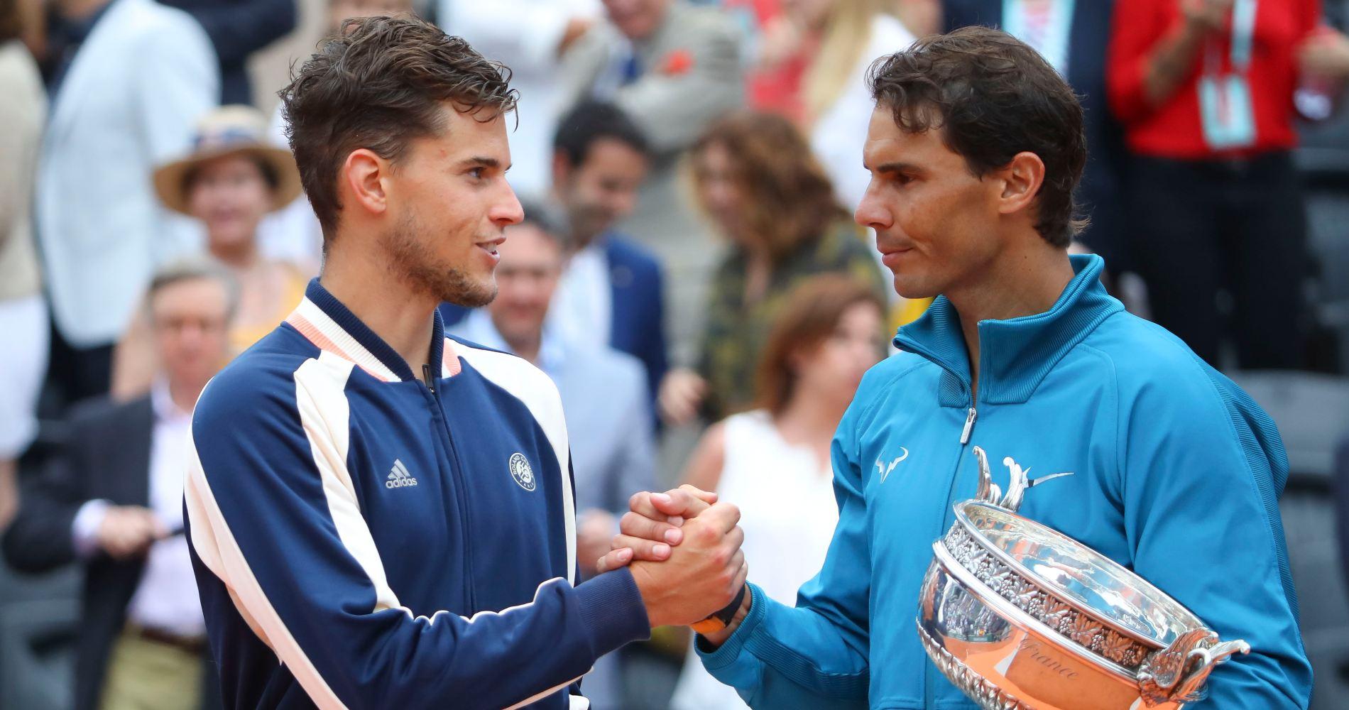 Dominic Thiem & Rafael Nadal, 2018 Roland-Garros Final