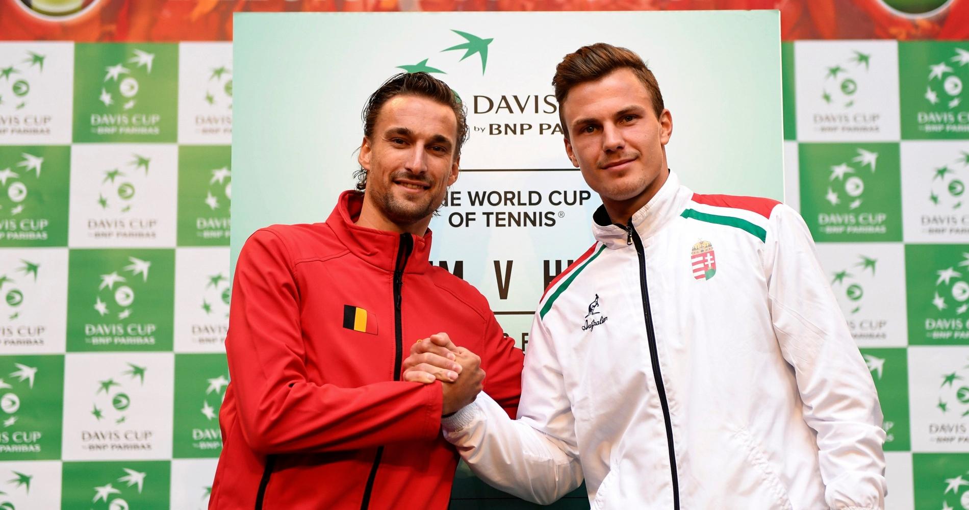 Marton Fucsovics Hungary Davis Cup