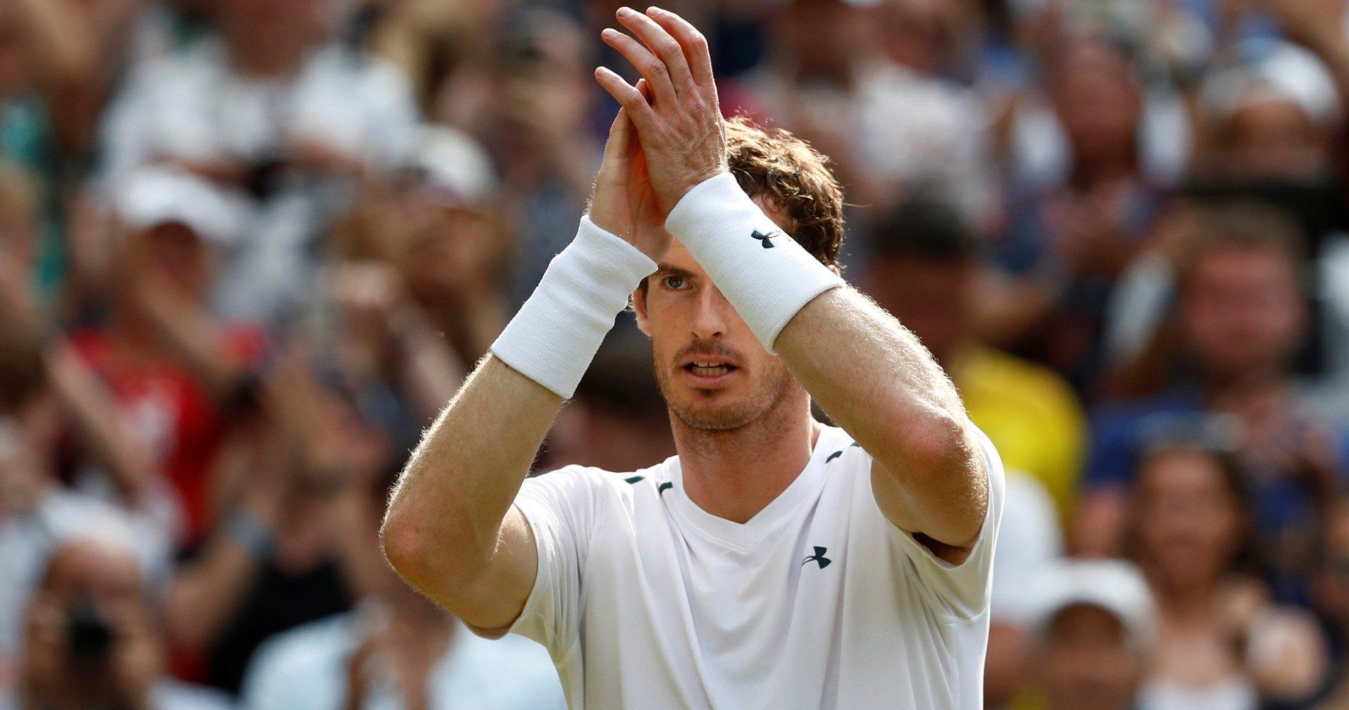 Andy Murray, Wimbledon, 2017