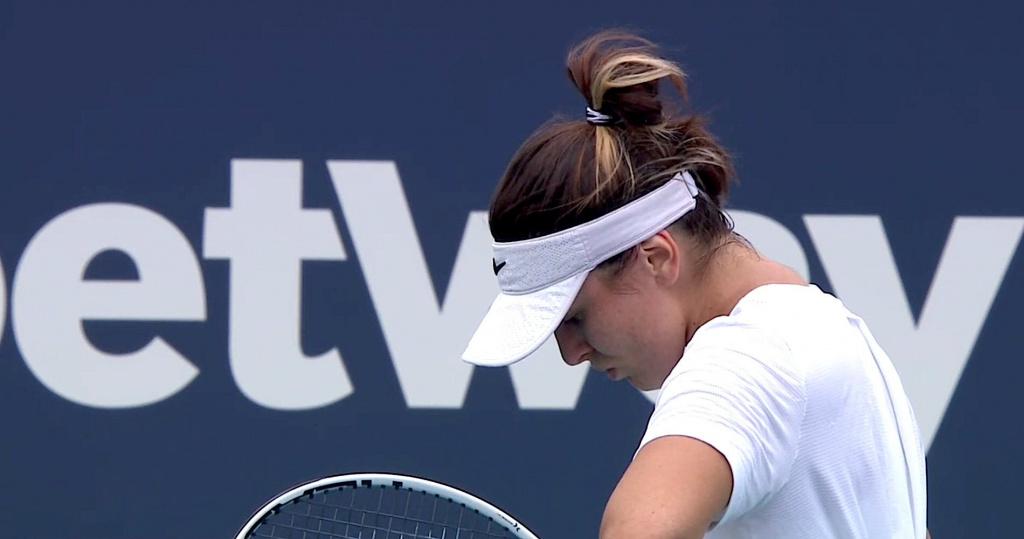 Bianca Andreescu Miami final