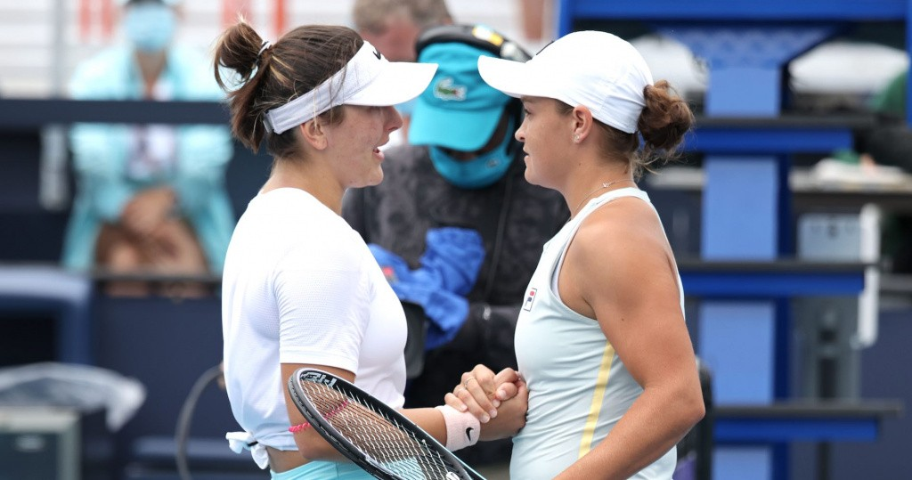 Bianca Andreescu & Ashleigh Barty, Miami 2021