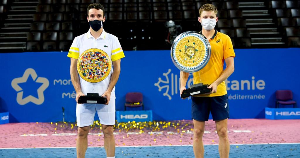 Roberto Bautista Agut & David Goffin, Montpellier, 2021