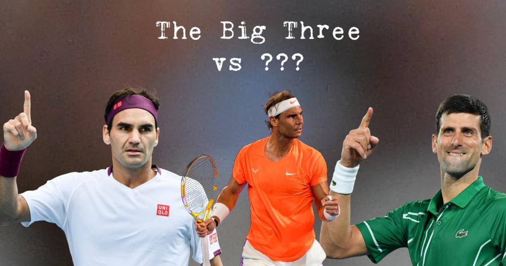 Djokovic, Federer, Nadal