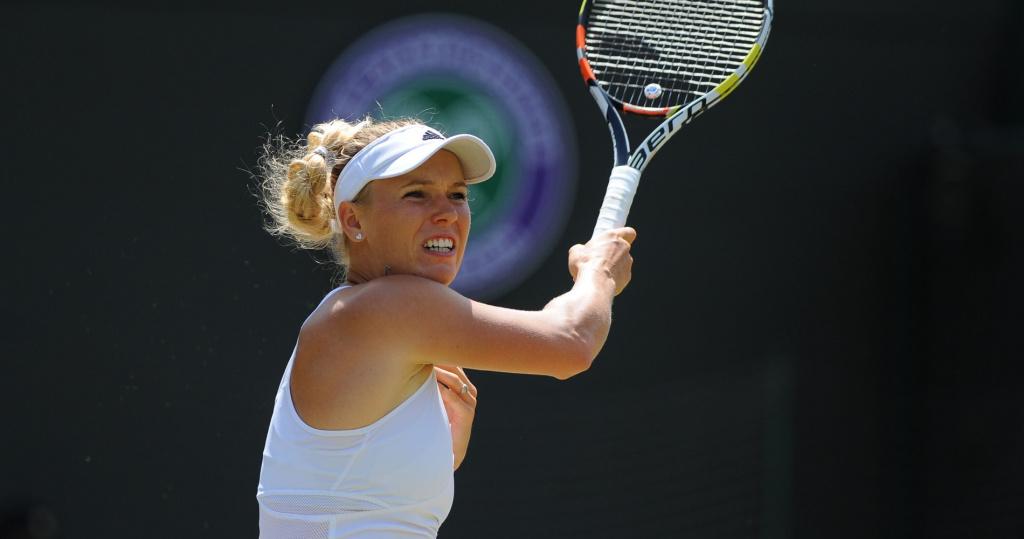 Caroline Wozniacki, Wimbledon, 2015